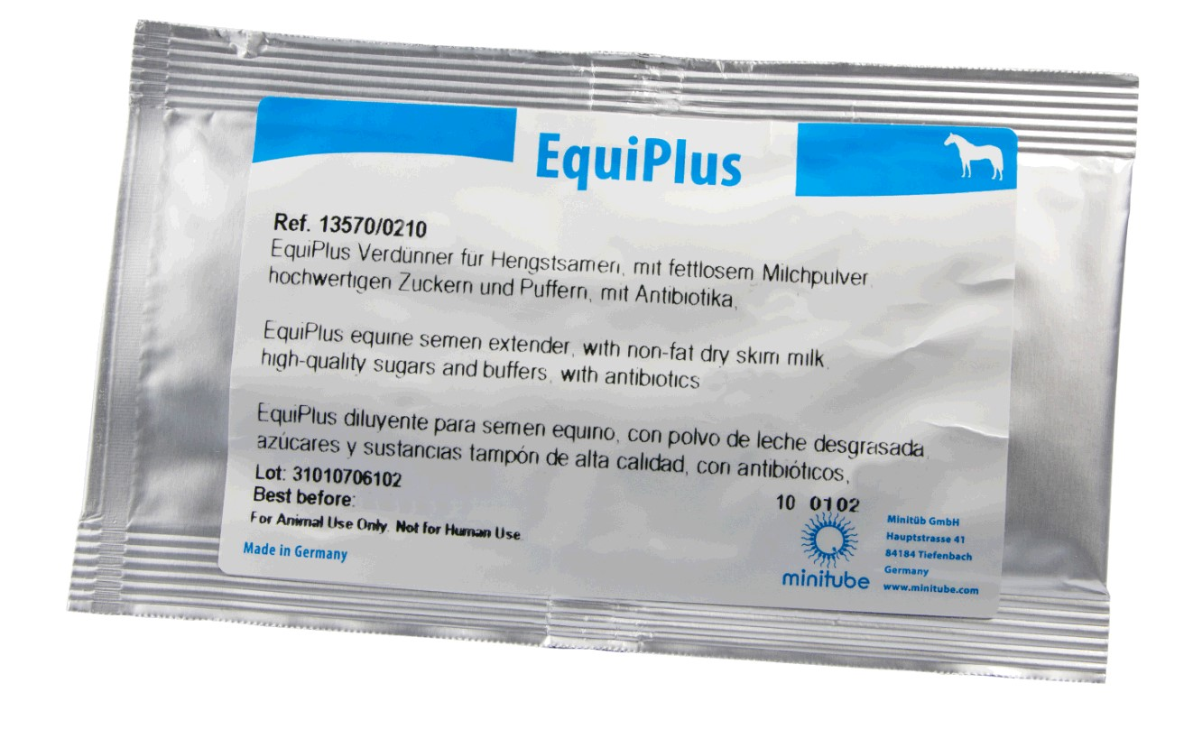 Image for EquiPlus equine semen extender with antibiotics makes 100 ml